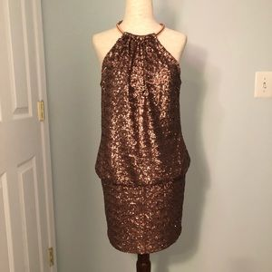 LAUNDRY BY SHELLI SEXY SEQUIN EVENING DRESS 4